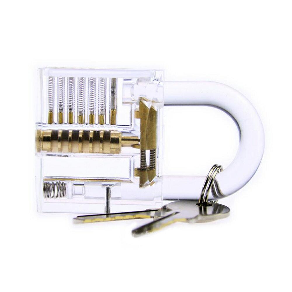 賽先生科學工廠 鎖匠的挑戰-DIY益智透明掛鎖