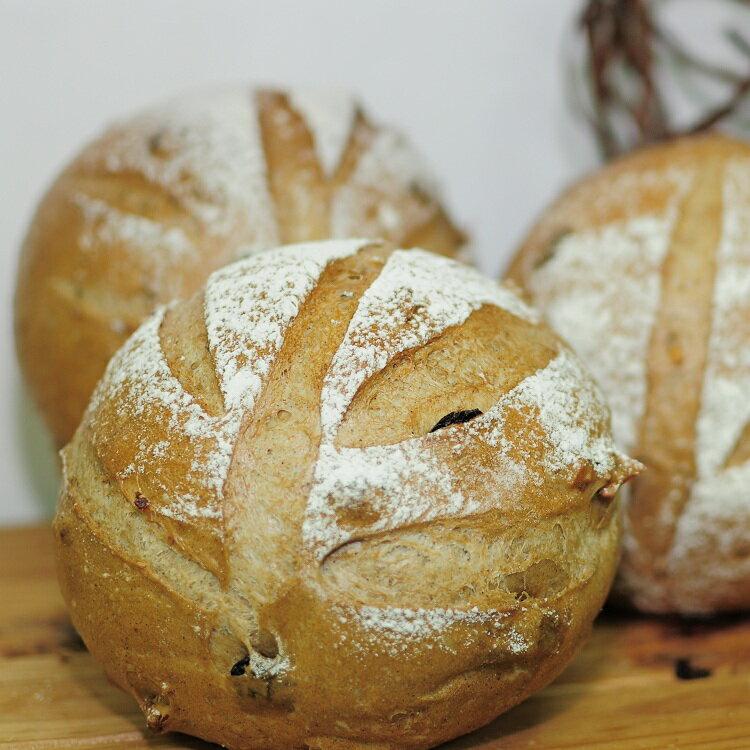 【克弗爾手作烘焙】黑麥雜糧麵包 340g/個