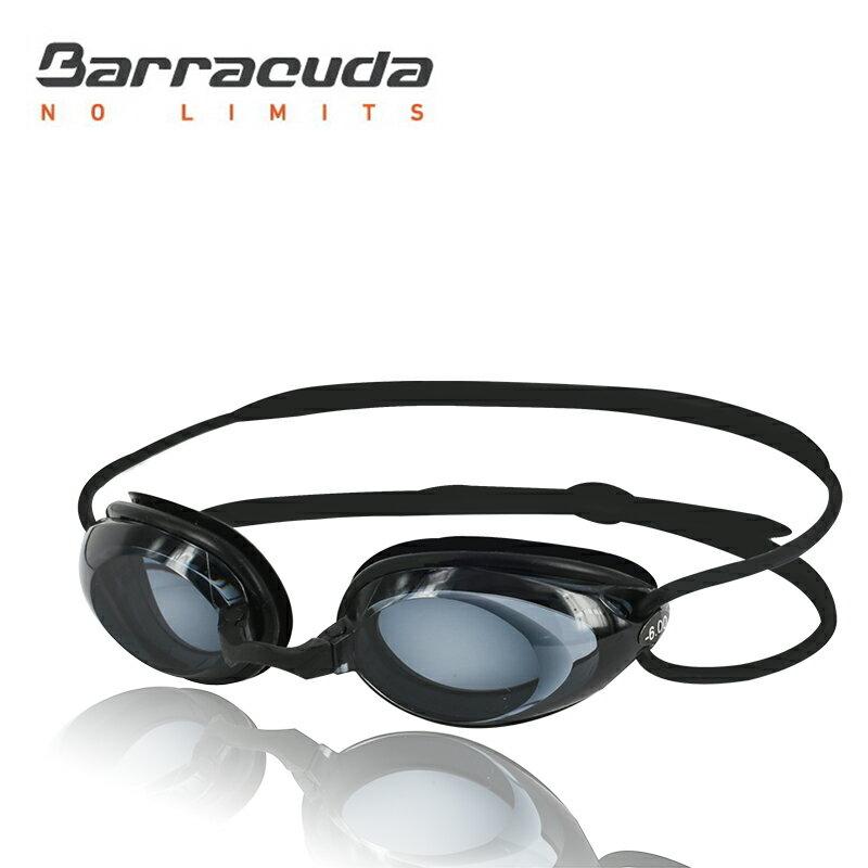 美國巴洛酷達Barracuda成人近視泳鏡-#2195---黑色頭帶組
