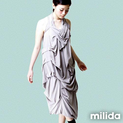 【Milida,全店七折免運】-春夏商品-無袖款-露背小禮服 4