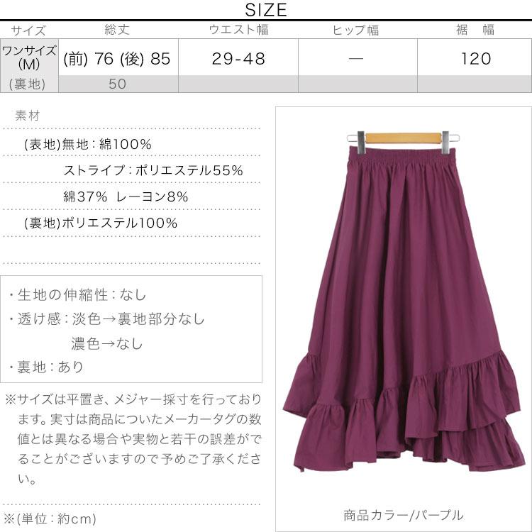 日本Kobe lettuce /  浪漫荷葉邊長裙  / -m2521-日本必買 日本樂天直送(2380) 3