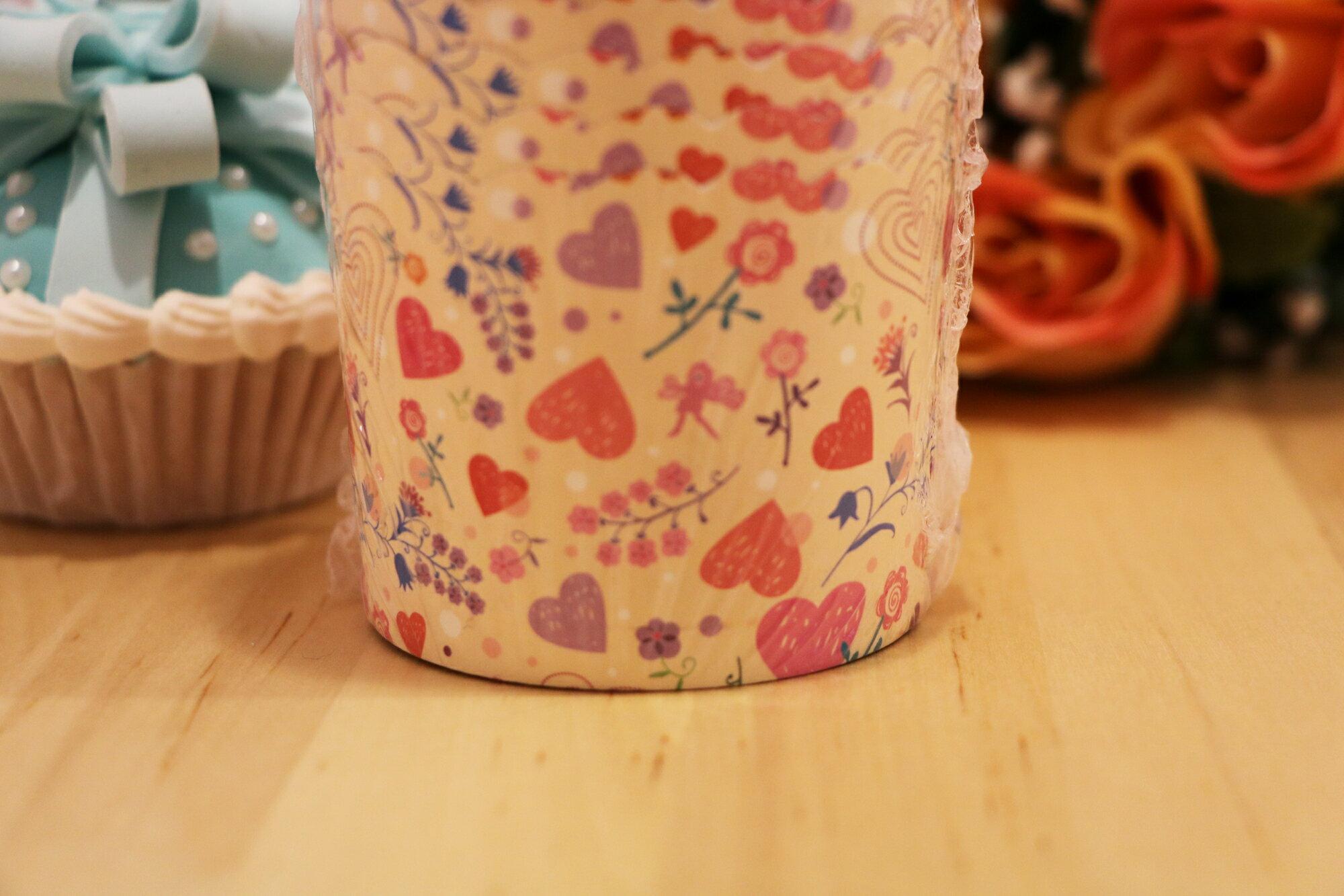 愛心-馬芬蛋糕紙杯(25入)