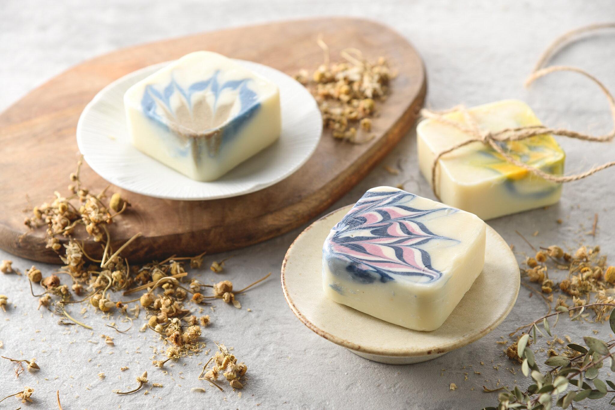 洋甘菊皂 6入一盒(100g/入) 香皂/肥皂/手工皂/沐浴/清潔