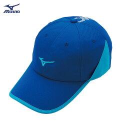 輕量透氣 運動路跑帽 J2TW850014 (深藍X中藍)  【美津濃MIZUNO】
