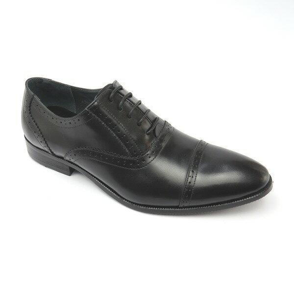 彩虹屋美鞋:*男皮鞋*時尚舒適尖頭排壓氣墊皮鞋77-A765(黑)☆【彩虹屋】☆