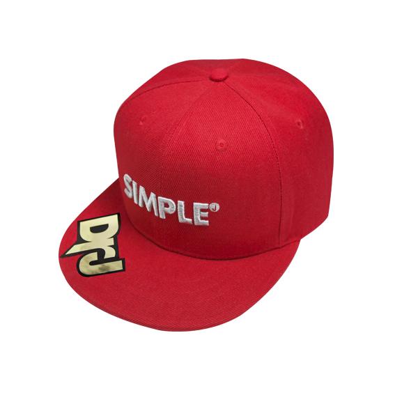 DrJ棒球帽SIMPLE 紅色