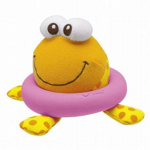 ★衛立兒生活館★Chicco 神奇感溫章魚洗澡玩具