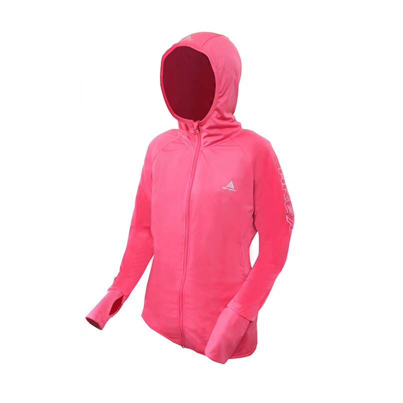【高透氣機能服飾】AREX SPORT 反光修身連帽運動外套 運動修版型 男女共版 M-2L 2