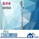 HCG 和成 圓滑桿 BA9504 昇降式蓮蓬頭固定座 -《HY生活館》水電材料專賣店