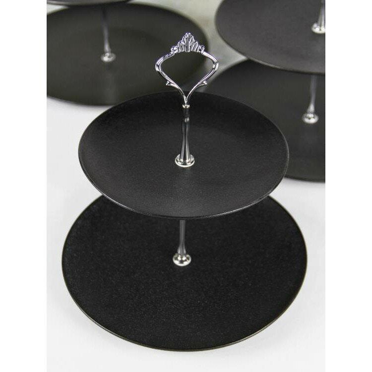 甜品台擺件裝飾道具 蛋糕托盤展示架子 歐式點心盤架茶歇冷餐擺台