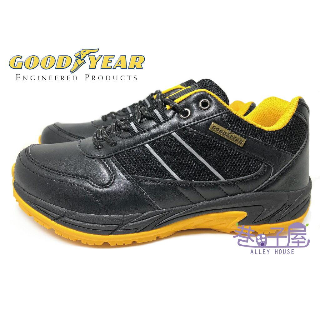 【巷子屋】GOODYEAR固特異 男款多功能止滑運動鞋 [63980] 黑黃 超值價$590