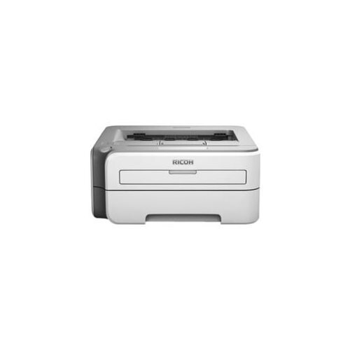 Ricoh Aficio SP 1210N Laser Printer - Monochrome - 2400 x 600 dpi Print - Plain Paper Print - Desktop - 23 ppm Mono Print - 251 sheets Standard Input Capacity - Manual Duplex Print - Ethernet - USB