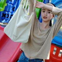 CHILL 女裝 純棉竹節百搭圓領上衣(白/黑/奶茶)-CHILL-流行女裝