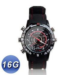 【迪特軍3C】HD高畫質 防潑水攝影手錶 16G 可當手錶 拍照 錄影 錄音 糾紛蒐證 自我保護 另有8G
