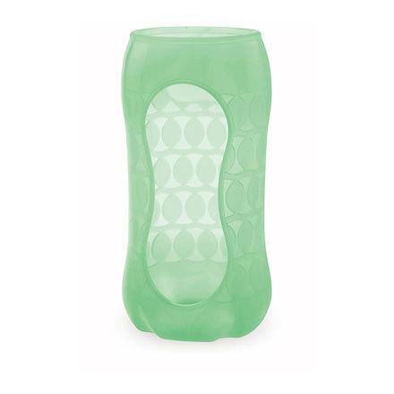 貝親Pigeon寬口玻璃奶瓶保護套240ml-綠『121婦嬰用品館』
