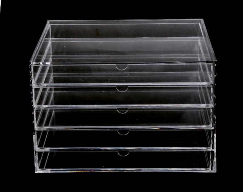 Cosmetic Jewelry Organizer 5 Drawer acrylic Box 0