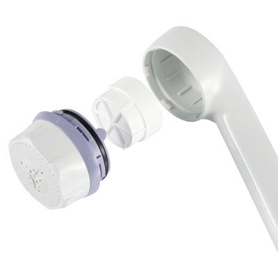 【DUSKIN】除氯蓮蓬頭,內附濾芯 1 顆,再送一顆濾芯