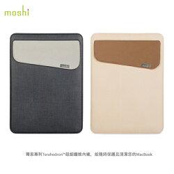 Moshi Muse 12吋 MacBook 輕薄 防傾倒 皮革 內袋