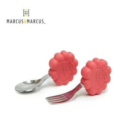 加拿大 MARCUS&MARCUS 動物樂園寶寶手握訓練叉匙-4款 3