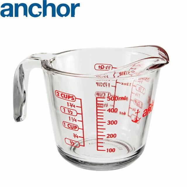 美國 Anchor 專業級強化玻璃量杯 500cc A-51770