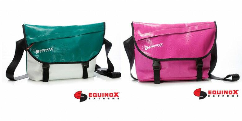 【露營趣】EQUINOX 防水 信差包 郵差包 防水包 肩背包 休閒包 運動包 通勤包 多功能包 111130