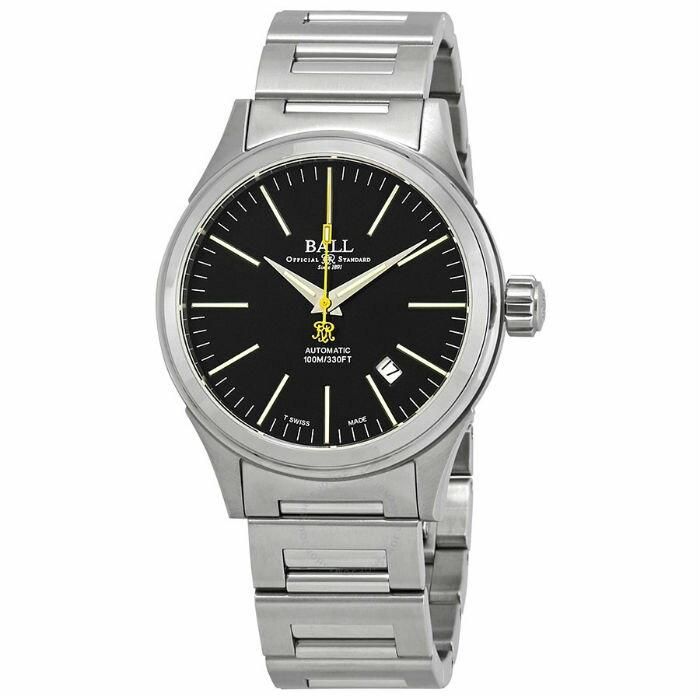 BALL 波爾錶 NM2188C-S2-BK watch Fireman 光榮經典機械腕錶/黑面 40mm