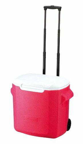 【鄉野情戶外專業】 Coleman |美國| 26L 拖輪冰桶/冰桶 保鮮桶 保冰箱-粉紅/CM-0028JM000