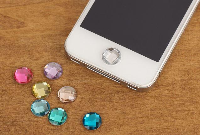 【省錢博士】鑽石home貼 / ipad鑽石貼 / 水鑽按鍵貼 / iphone5 按鍵貼鑽   3元