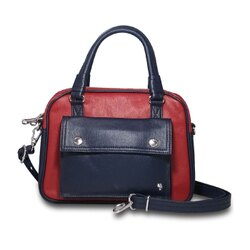 PORTER 優雅風範 女款手提肩背兩用包-紅色/桃粉 保證真品11544-10006/11544-10009