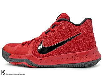 2017 Kyrie Irving 最新代言鞋款 NIKE KYRIE 3 III GS ALL-STAR 三分球大賽 紅 紅黑 HYPERFUSE 鞋面 後 ZOOM AIR 氣墊 UNCLE DR..