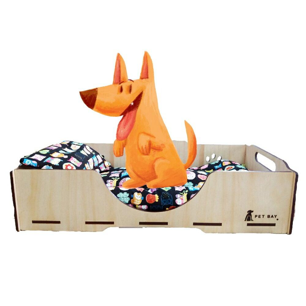 【毛小孩嚴選】 KT002 KATIE凱蒂床寢具組(墊+枕) 嚴選布料 毛小孩 寵物用品 熱銷