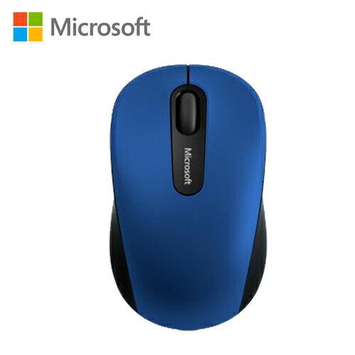 Microsoft 微軟 行動藍芽滑鼠3600-藍【三井3C】