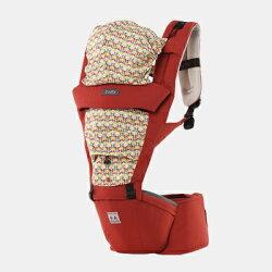 韓國 Todbi Air Motion Blossom機棉氣囊坐墊式背巾(橘紅)