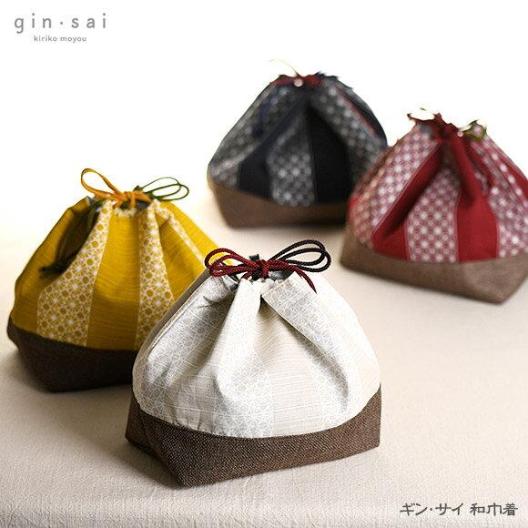 日本製 gin˙sai 印花保溫保冷便當袋 束口袋  /  sab-2029   / 日本必買 日本樂天代購直送(1782) /  件件含運 0