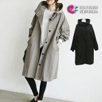 風衣外套推薦到風衣韓流 個性裝扮雙口袋長版連帽風衣外套 艾爾莎【TGK4242】就在艾爾莎時尚精品推薦風衣外套