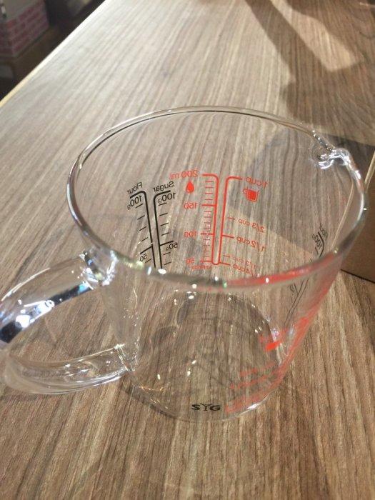 柄玻璃量杯200ml 耐熱玻璃量杯200cc 台灣玻璃精品 『可刷卡、超商免運』
