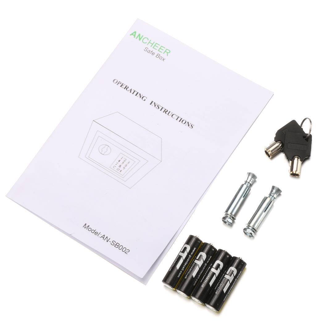 Digital Electronic Safe Box Keypad Lock 5