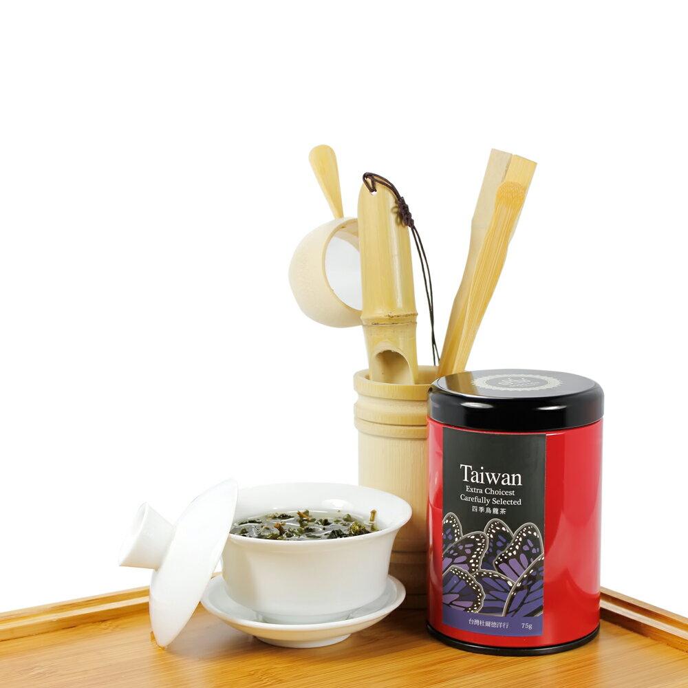 【杜爾德洋行 Dodd Tea】精選四季烏龍茶 75g 4