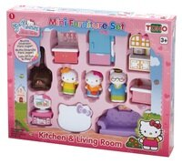 凱蒂貓週邊商品推薦到KT迷你家具組--廚房與客廳/ Mini Furniture Set -Kitchen & Living Room / Hello Kitty/ 家家酒/伯寶行