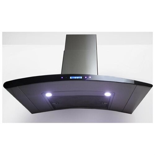 "AKDY New 30"" European Style Stainless Steel Wall Range Hood Vent Touch Control AK-198KN3 30"" 2"