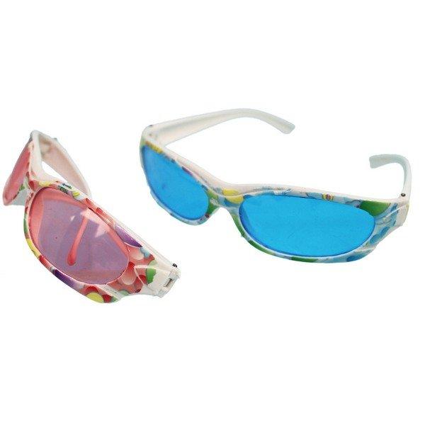 兒童眼鏡 派對眼鏡 花形裝飾眼鏡 / 一支入(定15) 表演眼鏡 太陽眼鏡童玩-YF12707 0
