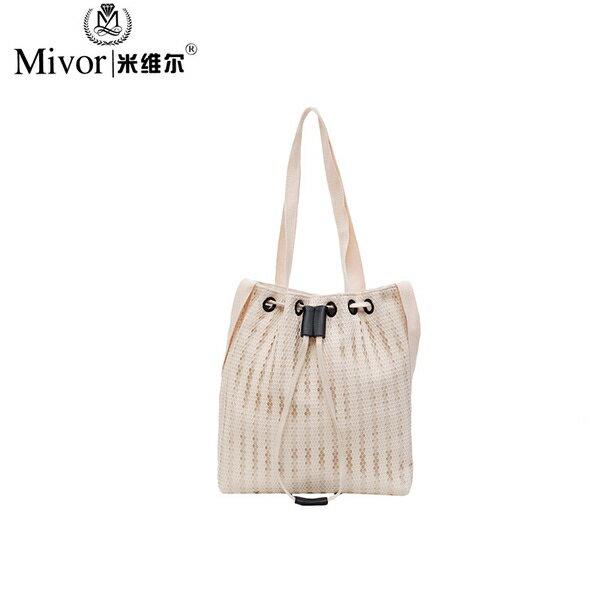 水桶包包女2020新款韓版抽帶包包單肩斜挎包時尚夏天手提包斜挎包