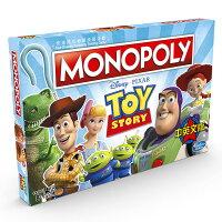 MONOPOLY 地產大亨 玩具總動員4 中英文版 【鯊玩具Toy Shark】-鯊玩具ToyShark-媽咪親子推薦