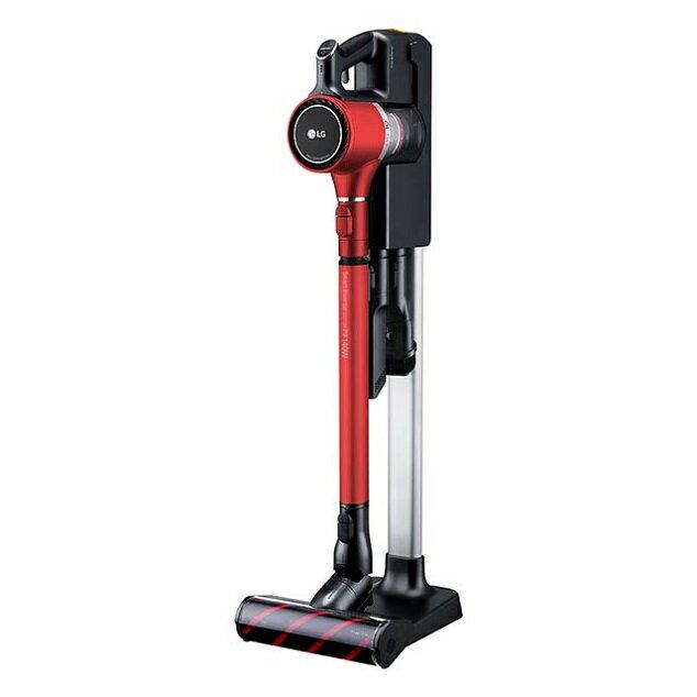 【領券95折無上限】LG 樂金 CordZero™ A9+ 快清式無線吸塵器 A9PBED2B (紅)
