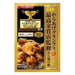 【橘町五丁目】日本日清最高金賞炸雞粉100g-醬油風味