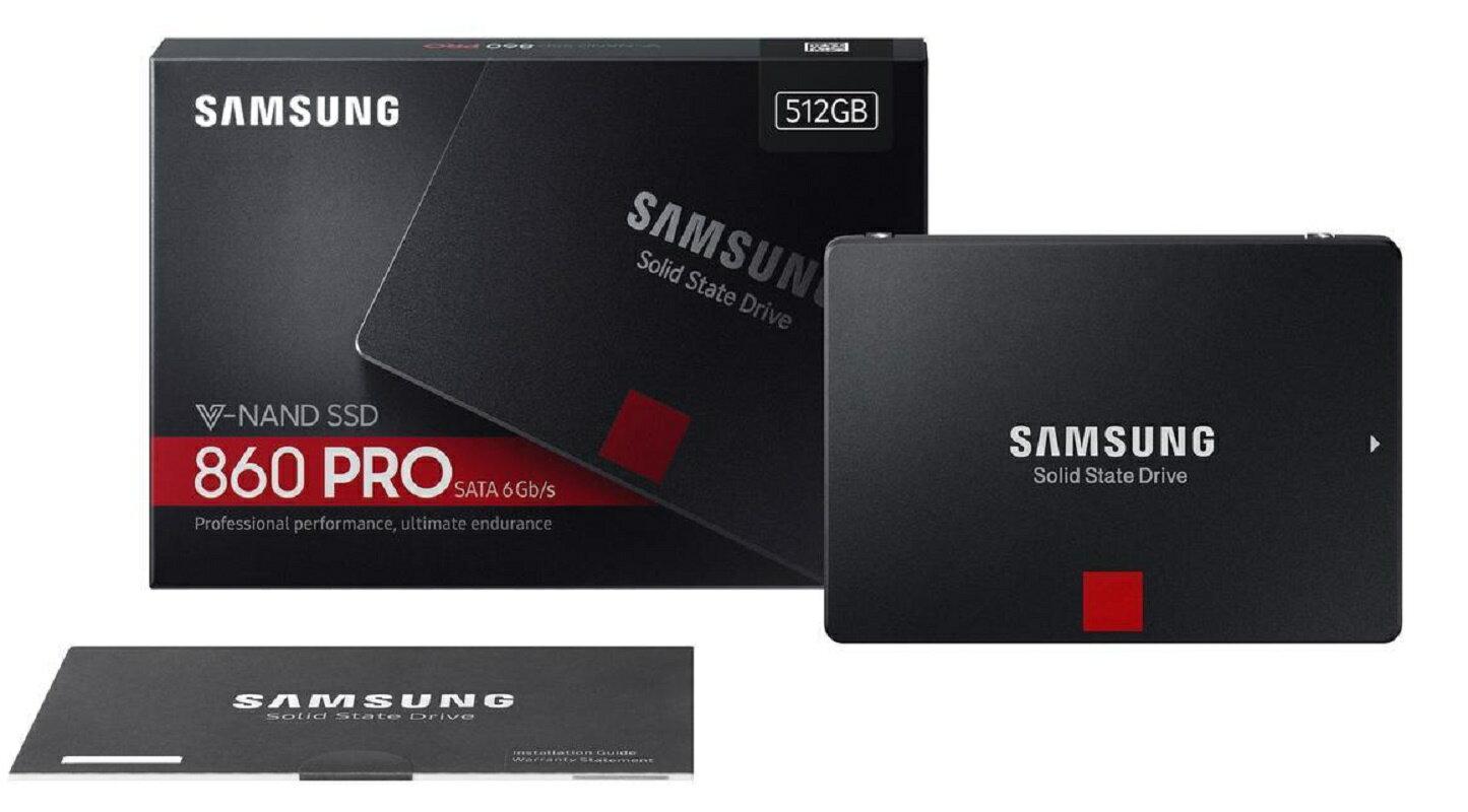 "Samsung SSD 860 Pro 512GB 2.5"" SATA III 3D NAND 512G Internal Solid State Drive MZ-76P512BW 0"