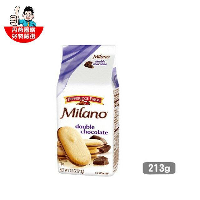【美國琣伯莉】雙層巧克力米蘭餅乾213g