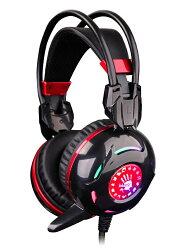 A4 雙飛燕 Bloody G300 黑 電競 霓彩炫光遊戲耳機麥克風