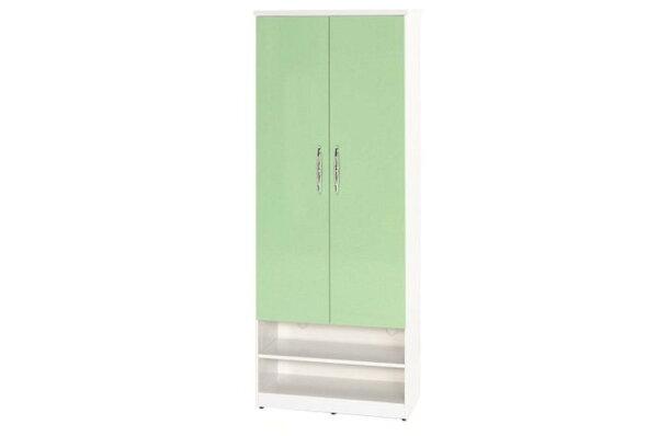 【石川家居】890-03(綠白色)鞋櫃(CT-331)#訂製預購款式#環保塑鋼P無毒防霉易清潔