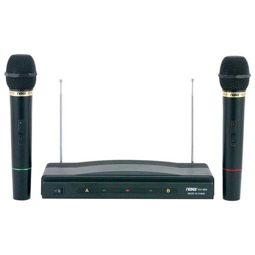 BeachAudio: Naxa Professional Dual Wireless Microphone Kit
